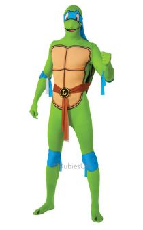 TEENAGE MUTANT NINJA TURTLES SECOND SKIN - LEONARDO EXTRA LARGE